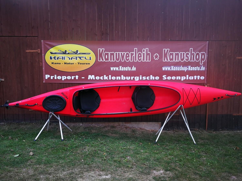 Prijon CL 470 Relax rot gebraucht Kajak Set 2019