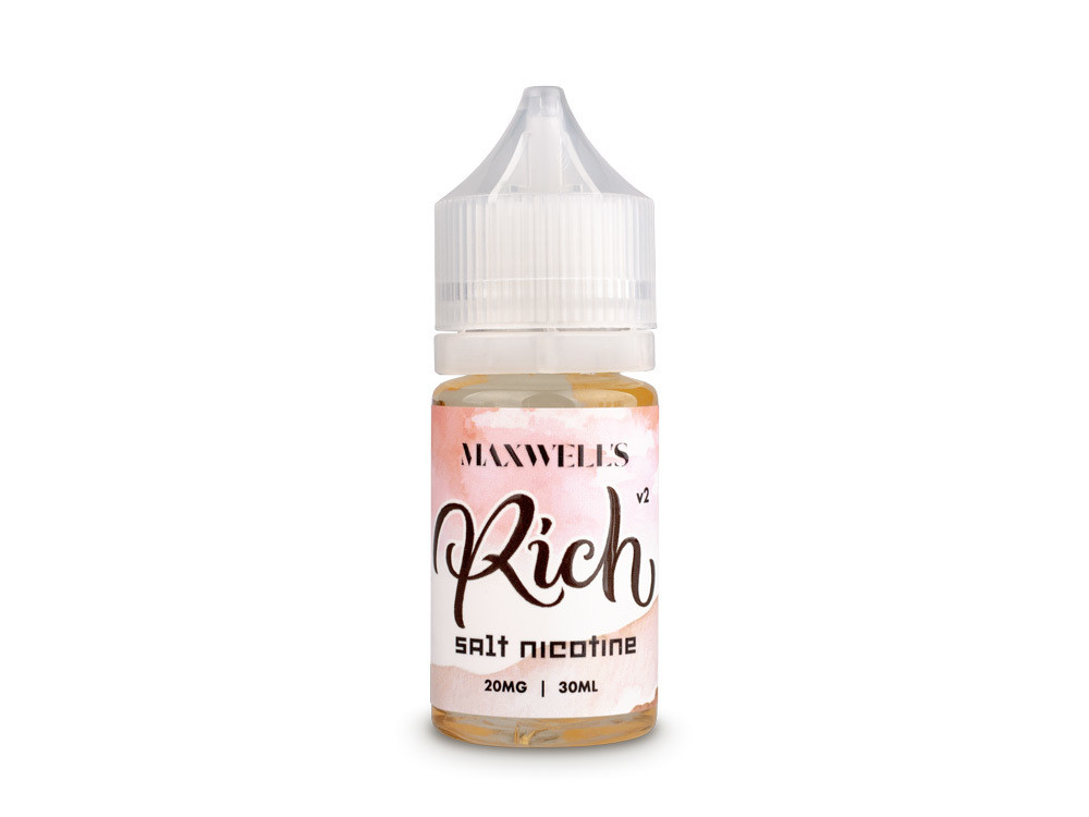 MAXWELLS: RICH WATERBERRY V2 SALT 30ML 35MG