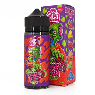 ZOMBIE COLA BY COTTON CANDY - PURPLE GRAPE 120ML 0MG