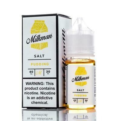 THE MILKMAN SALT: PUDDING 30ML 40MG