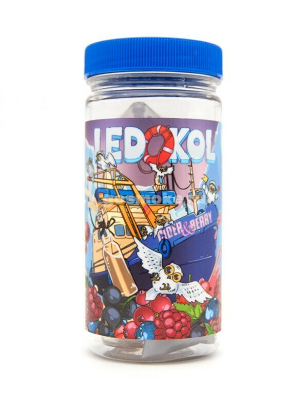 LEDOKOL BY COTTON CANDY: CIDER BERRY 100ML 0MG