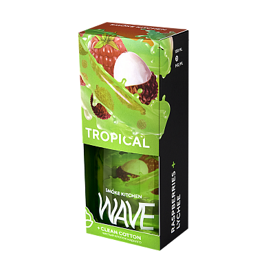 SMOKE KITCHEN WAVE: TROPICAL WAVE 100ML 3MG