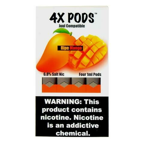 4X PODS FOR JUUL: RIPE MANGO