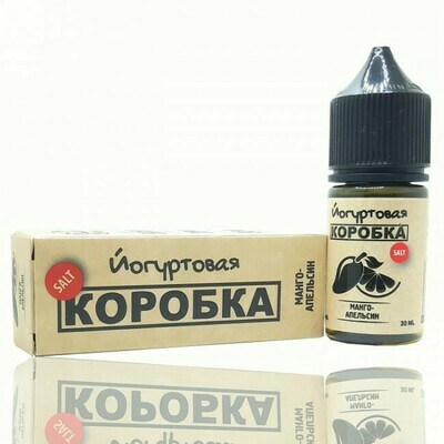 КОРОБКА SALT BY COTTON CANDY: МАНГО АПЕЛЬСИН  30ML 25MG