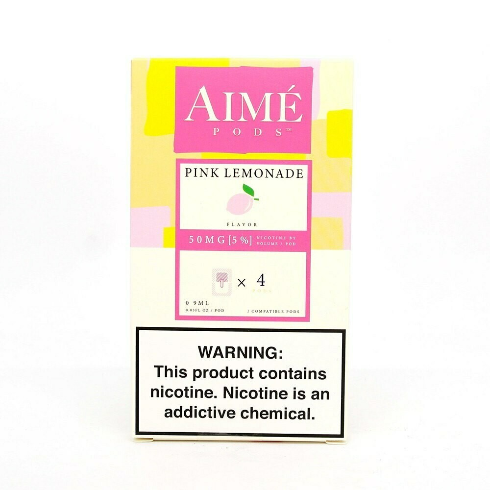 AIME PODS FOR JUUL: PINK LEMONADE