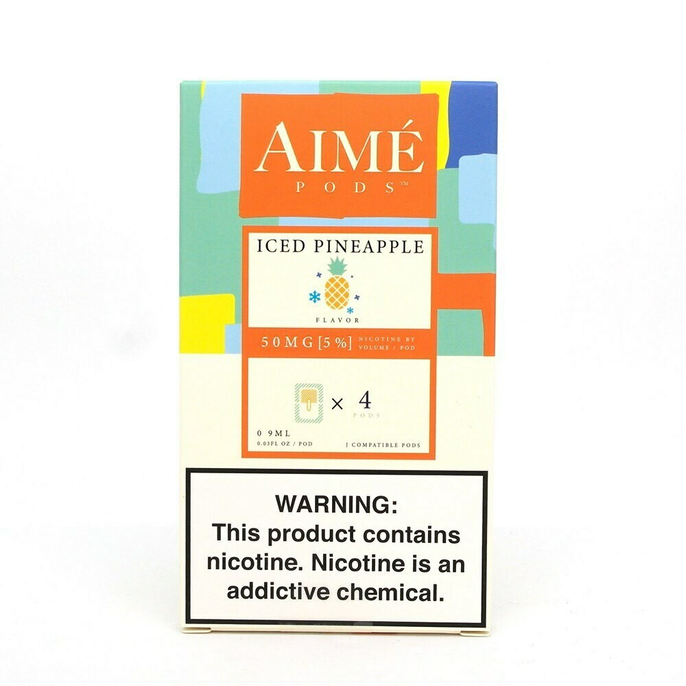 AIME PODS FOR JUUL: ICED PINEAPPLE