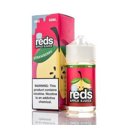 7 DAZE REDS: APPLE STRAWBERRY ICED 60ML 0MG