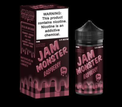 JAM MONSTER: RASPBERRY 100ML 3MG