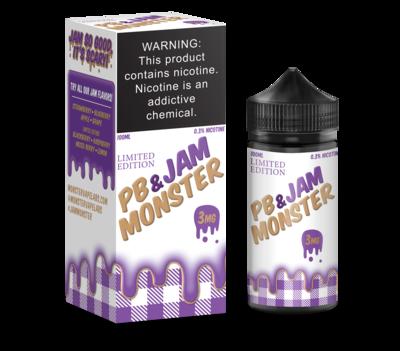 JAM MONSTER PB & JAM: GRAPE 100ML 3MG