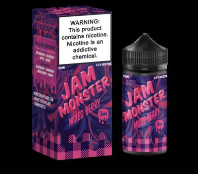 JAM MONSTER: MIXED BERRY 100ML 3MG