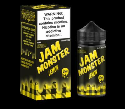 JAM MONSTER: LEMON 100ML 3MG