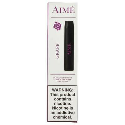AIME DISPOSABLE POD: GRAPE 50MG