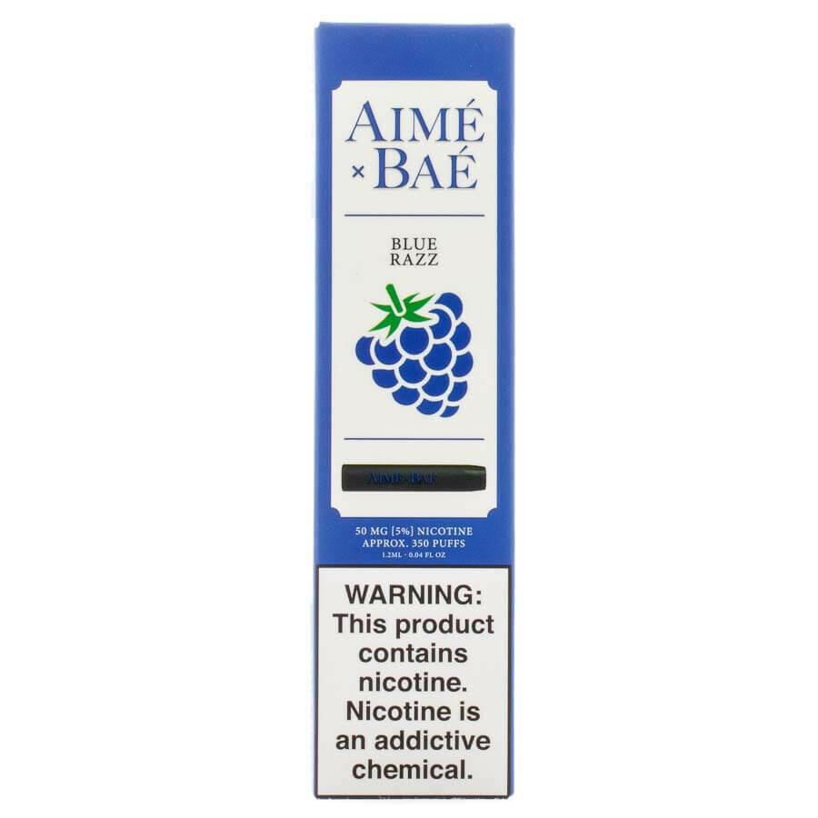 AIME X BAE DISPOSABLE POD: BLUE RAZZ 50MG