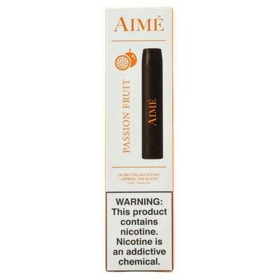 AIME DISPOSABLE POD: PASSION FRUIT 50MG