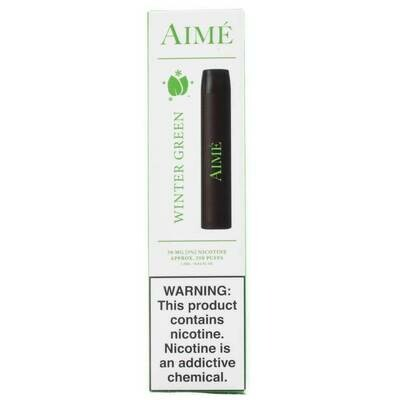 AIME DISPOSABLE POD: WINTER GREEN 50MG