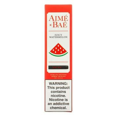 AIME X BAE DISPOSABLE POD: JUICY WATERMELON 50MG