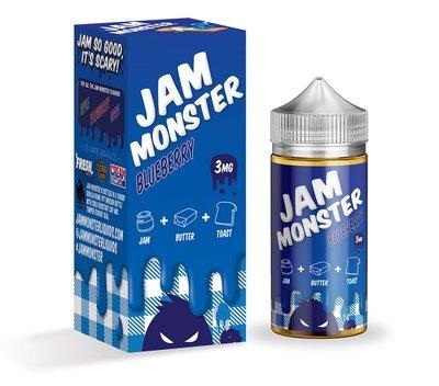 JAM MONSTER: BLUEBERRY 100ML 3MG