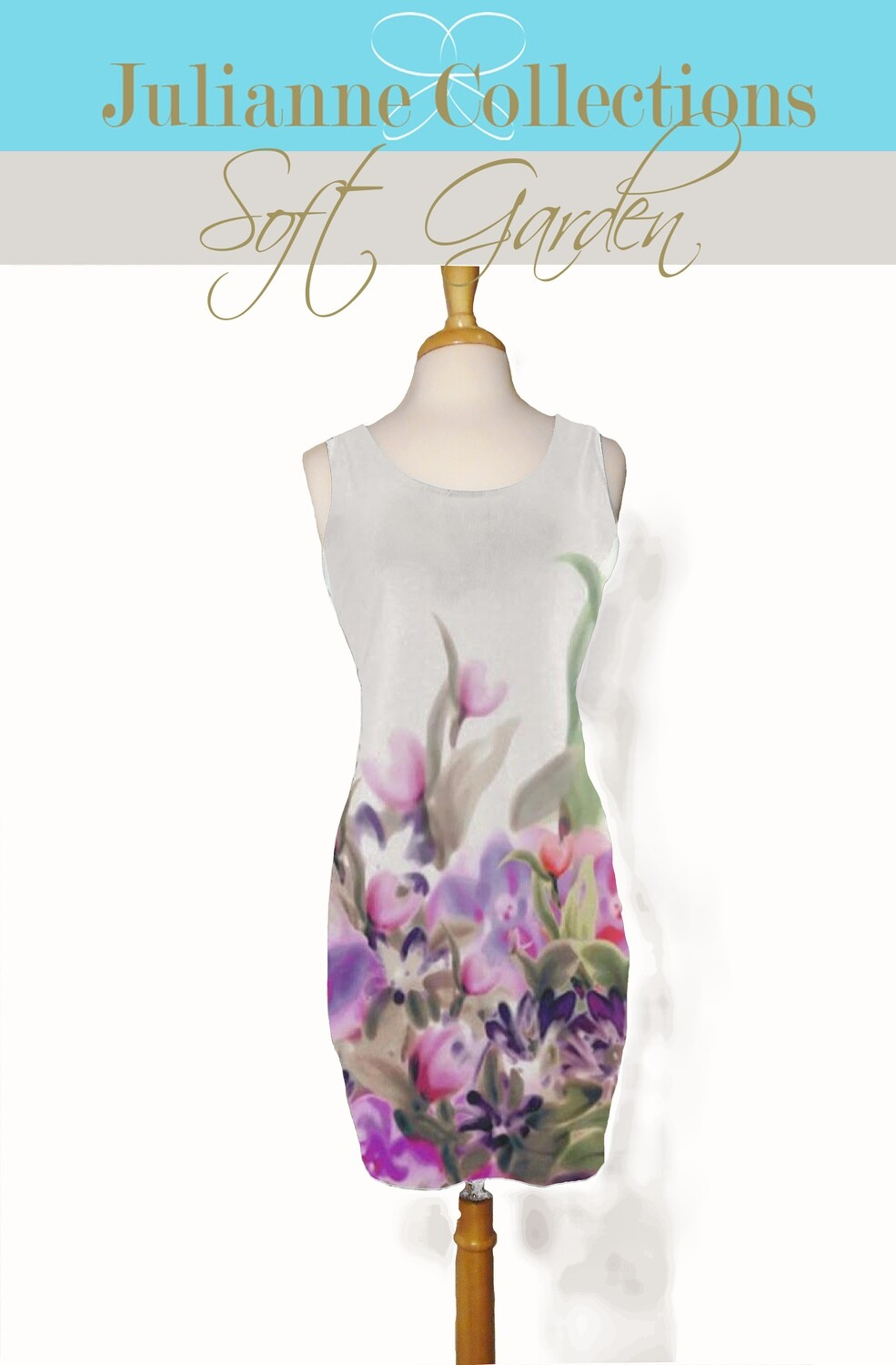 Soft Garden Tank Dress