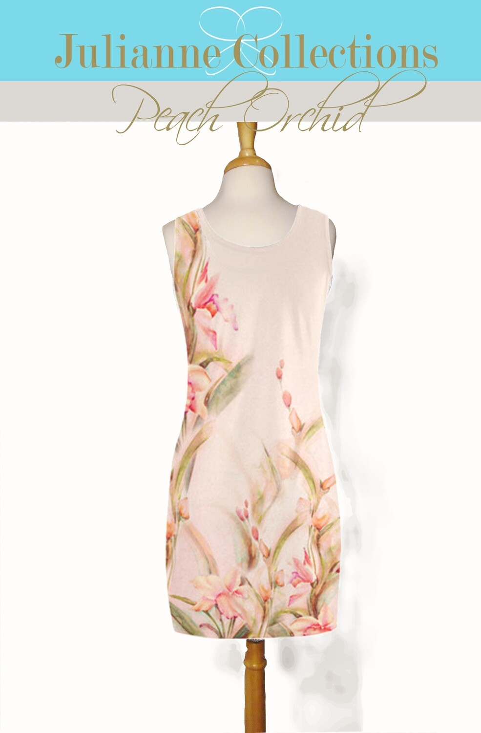 Peach Orchid Tank Dress