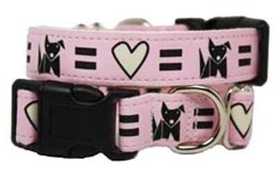 Eco Friendly Bamboo Saving The Earth Series Dog Collars - Love Dog