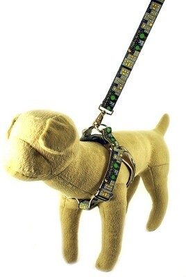 Eco Friendly Bamboo Saving The Earth Series Dog Harness - Fresh in the City