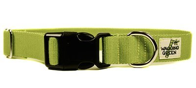 Eco Friendly Bamboo Single Layer Dog Collar - Bamboo Zen