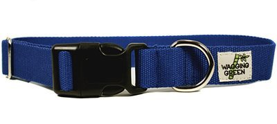 Eco Friendly Bamboo Double Layer Dog Collar - Twilight