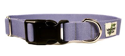 Eco Friendly Bamboo Double Layer Dog Collar - Spring Lilac