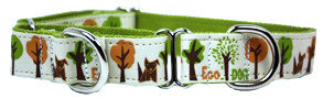 Eco Friendly Bamboo Saving The Earth Series Martingale Collar - Eco Dog