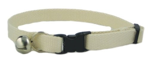 Eco Friendly Bamboo Cat Collar - Natural (undyed)