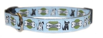 Eco Friendly Bamboo Saving The Earth Series Dog Collars - Rescue Dog