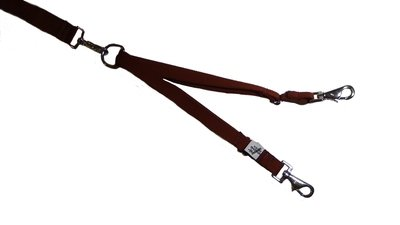 Eco Friendly Bamboo Tandem Leash Accessory - Tree Bark