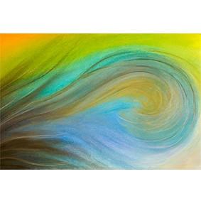 """Lysel Art """"Overspoeld"""" 45x75 (ook als wenskaart)"""