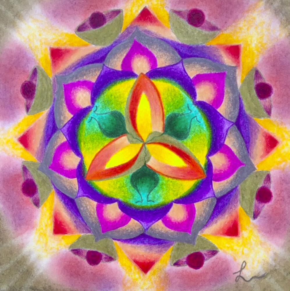 Voorbeelden Herinnerings-Mandala