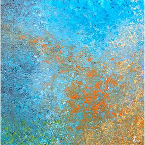 """Lysel Art """"Erin Springen"""" (verkocht, enkel als wenskaart)"""