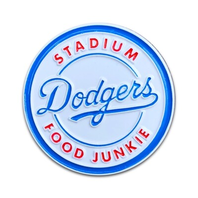 LA Stadium Food Junkie Pin
