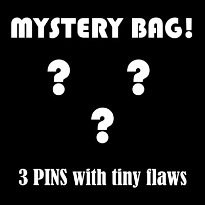 Tiny Flaw 3 Pin Mystery Bag