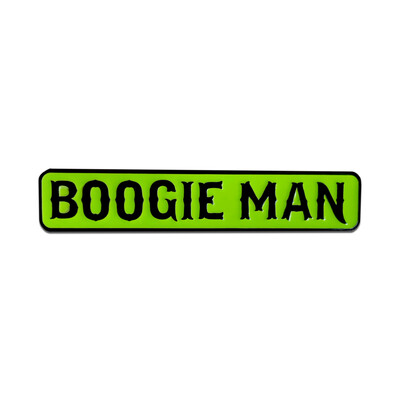 Boogie Man Pin