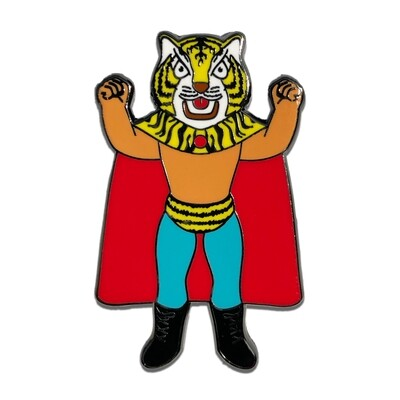 Tiger Mask Pin