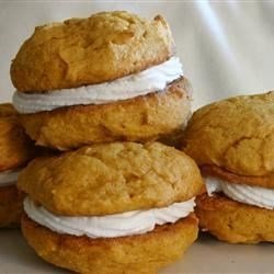 Pumpkin Gob Cookies