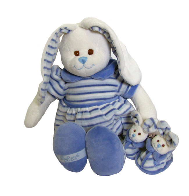 Great Bunny Paul & baby shoes