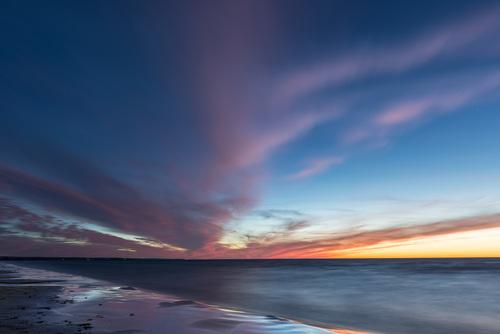 The Blue Hour, Sauble Beach, Ontario, Canada