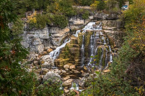 Inglis Falls, Sydenham River, Owen Sound, Ontario, Canada