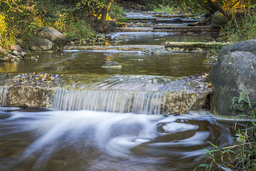 Oxenden Creek Falls, Oxenden, Wiarton, Ontario, Canada