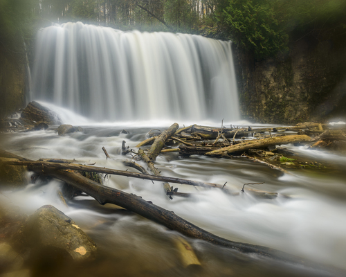 Hoggs Falls, Flesherton, Ontario, Canada