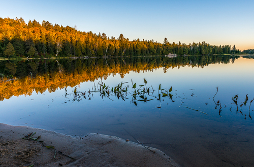 End Of The Day, Whitefish Lake, Algonquin Park, Ontario, Canada