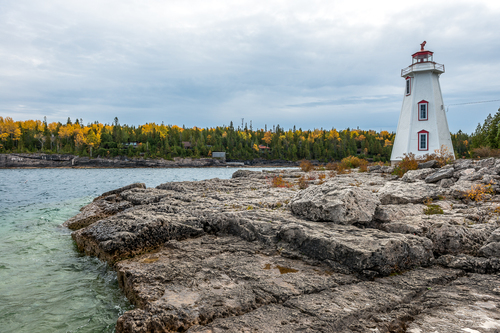 Big Tub Lighthouse, Tobermory, Ontario, Canada