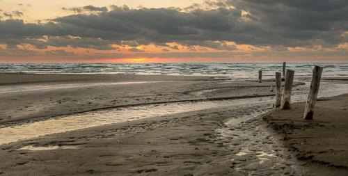 Sauble Entrance Sundown, Sauble Beach, Ontario, Canada