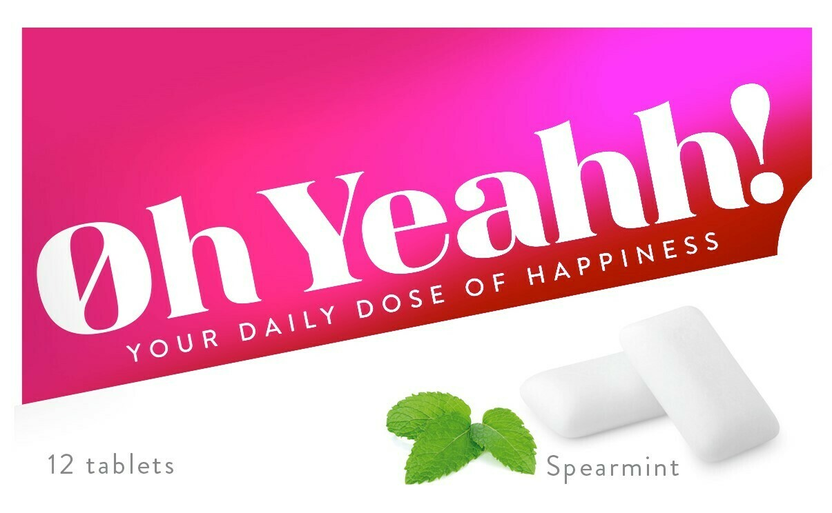 Oh Yeahh! Chewing Gum SPEARMINT