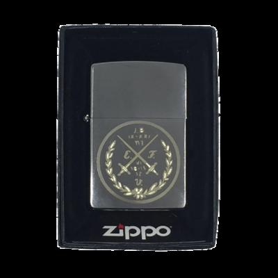 Zippo - Der rauchende Bursch (Neu)(Benzinfeuerzeug)
